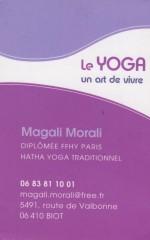 LOGO-CARTE DE VISITE Magalie Morali - Yoga